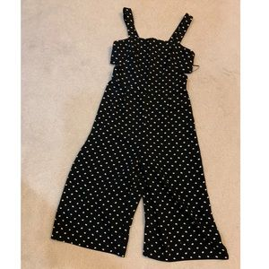 Topshop Petite Jumpsuit with Daisy Floral Pattern